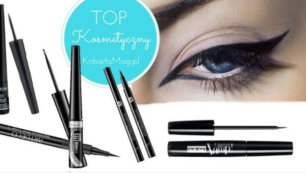 Top kosmetyczny: najlepsze czarne eyelinery 2017