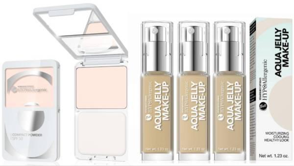 Nowości kosmetyczne BELL HYPOAllergenic na lato: podkład nawilżająco-matujący oraz puder kompaktowy