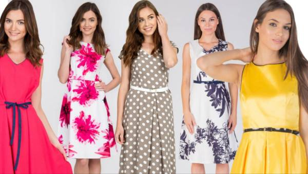 Modne sukienki rozkloszowane