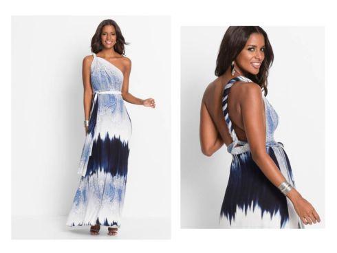 sukienki z odkrytymi ramionami od bonprix