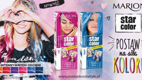 Marion: Star Color – Farby do włosów w najmodniejszych kolorach tego lata