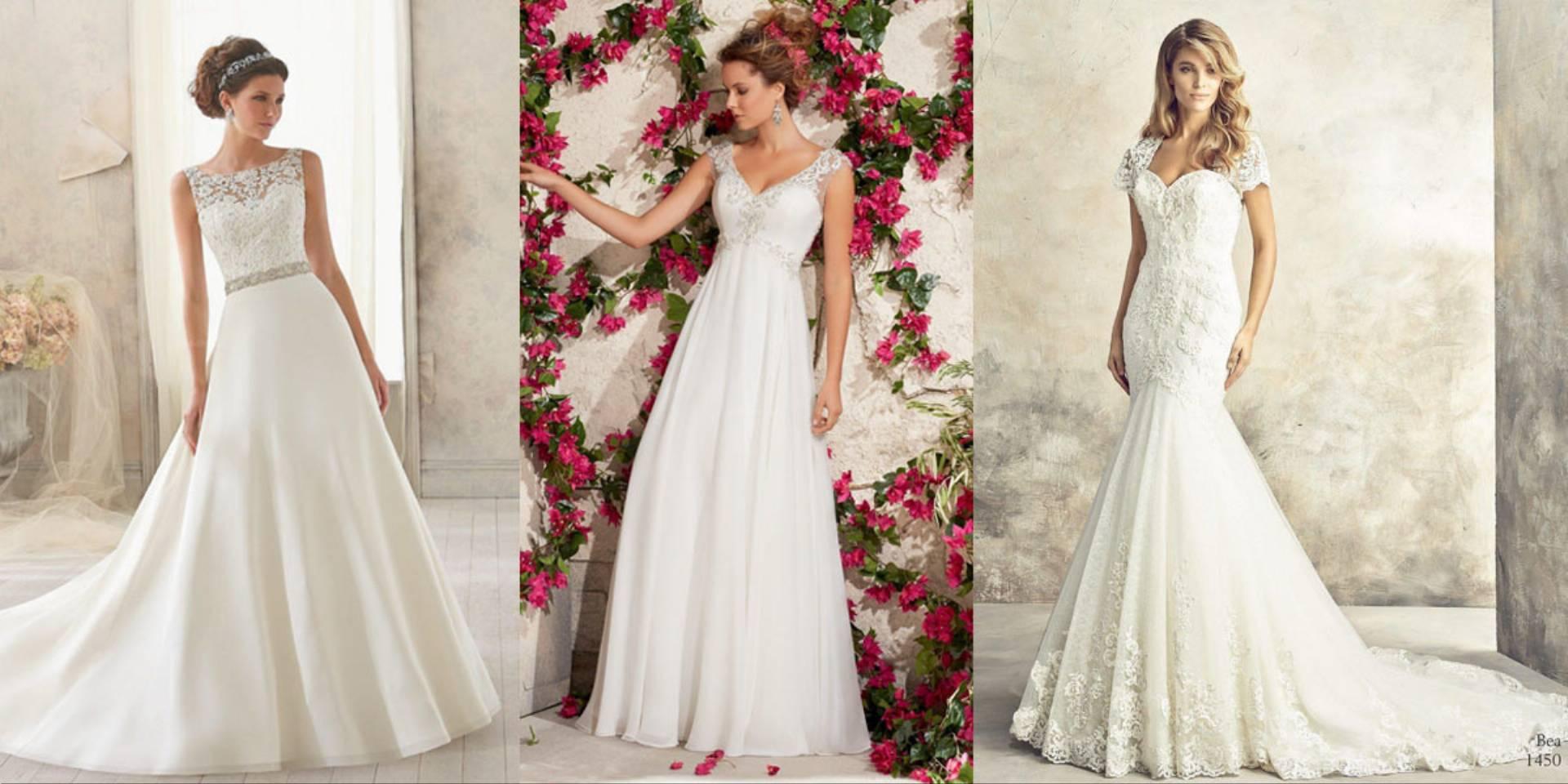 4148a690a2 Idealna suknia ślubna do Twojej sylwetki - KobietaMag.pl