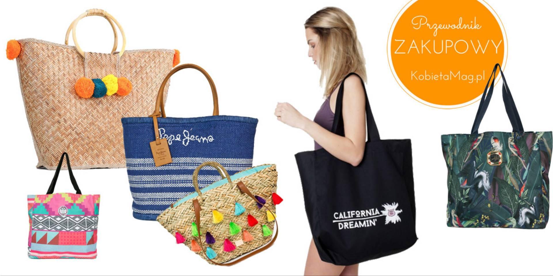 20c35c903af93a Przewodnik zakupowy: najlepsze pod słońcem – modne torby plażowe 2017!