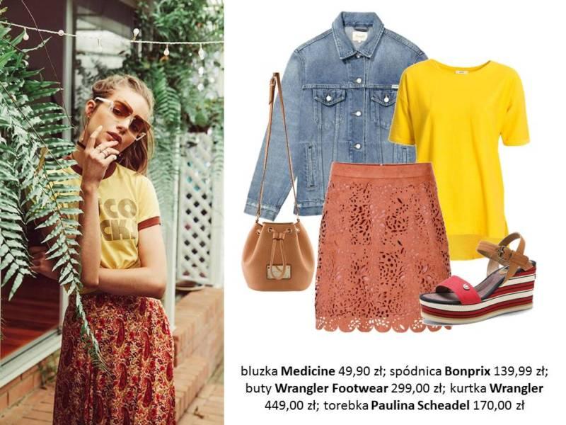 ubrania w stylu vintage