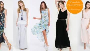 Przewodnik zakupowy: długie sukienki na lato