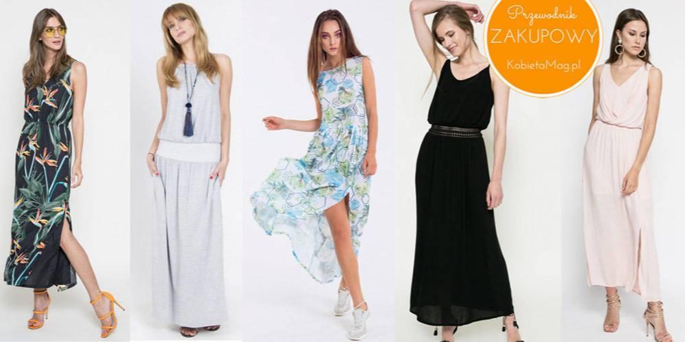 305a6fe62b Przewodnik zakupowy  długie sukienki na lato - KobietaMag.pl
