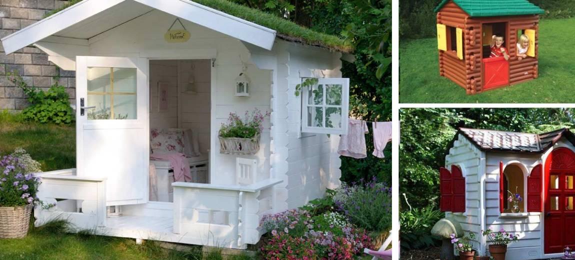 Wybieramy domek dla dzieci do ogrodu