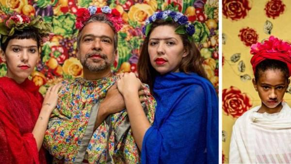 Być jak Frida Kahlo. Brazylijska fotografka każdego przeobrazi w meksykańską malarkę!