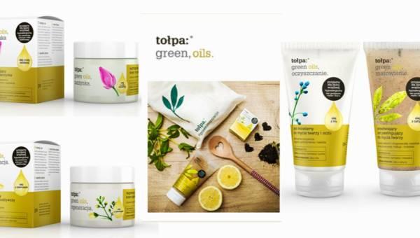 Nowa seria kosmetyków tołpa® green oils – czyli siła oleju zamknięta w kosmetykach