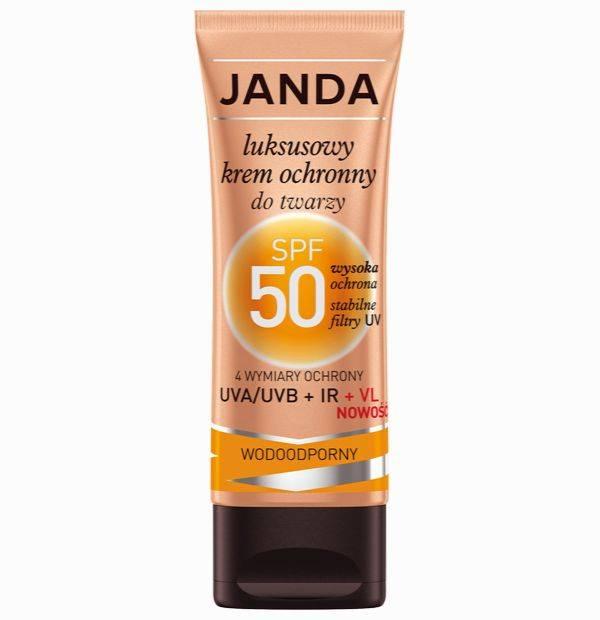 Janda, Luksusowy krem ochronny do twarzy SPF 50