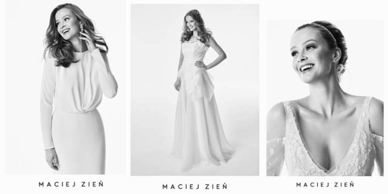 Najnowsze suknie ślubne Macieja Zienia