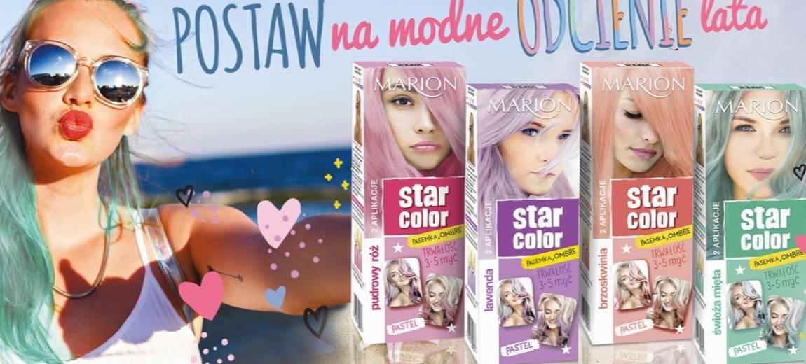 Marion: Star Color – farby w pastelowych odcieniach
