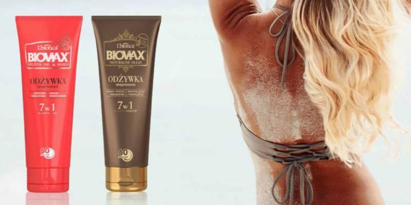 Odżywki L'biotica do włosów: idealne na wakacje