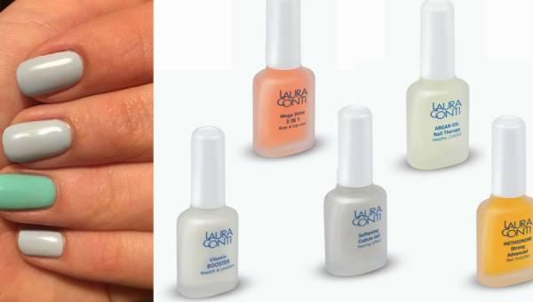 Pielęgnacja paznokci – odżywki Laura Conti