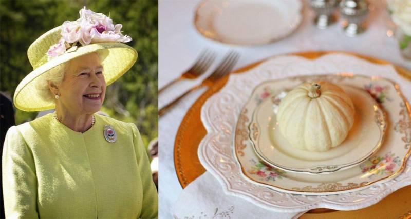 lekcja etykiety z brytyjską królową