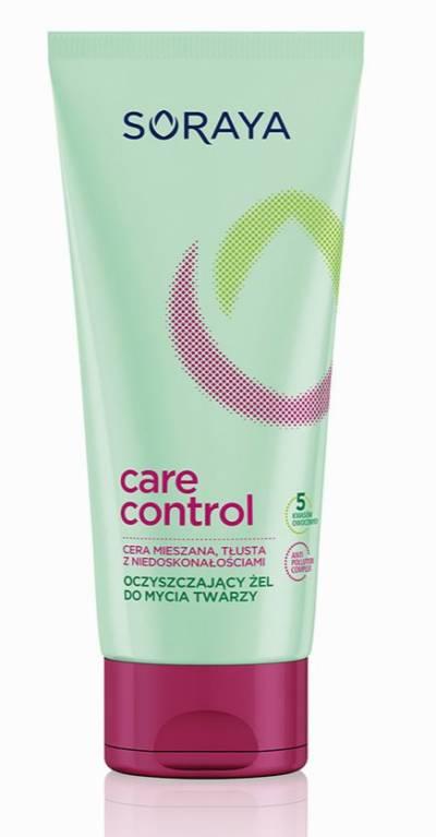 CARE CONTROL: kosmetyki SORAYA do cery tłustej i mieszanej