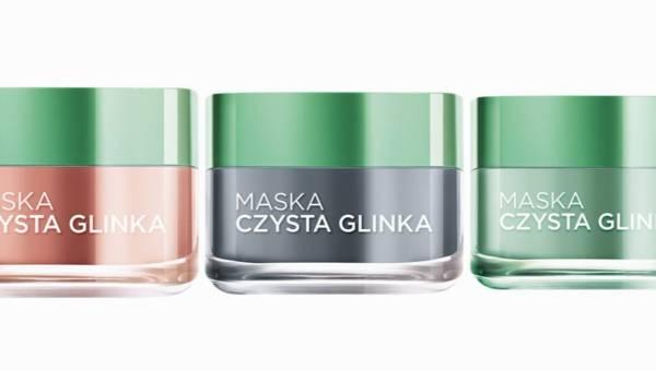 Nowość: maski Czysta Glinka od L'Oréal Paris