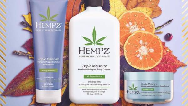 Przygotuj skórę na jesień: kosmetyki Hempz
