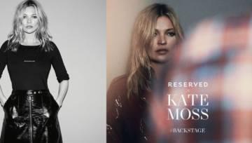 Supermodelka Kate Moss twarzą Reserved
