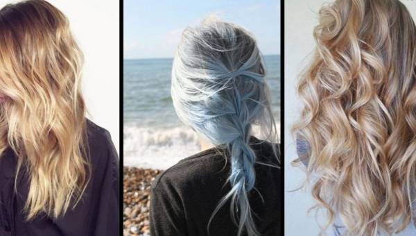 Modne kolory włosów na koniec lata – lodowe pasemka i butterscotch