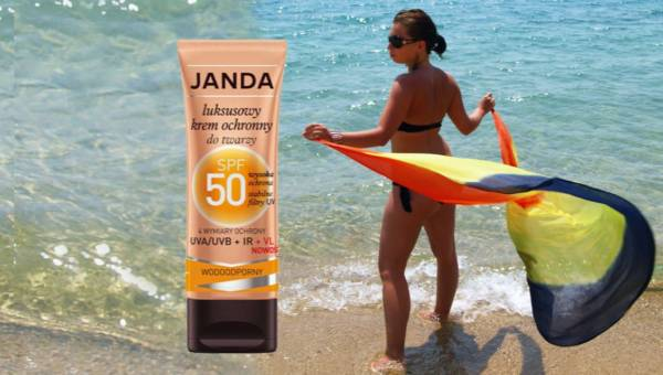 Konkurs: Cztery wymiary ochrony z kremem SPF 50 marki JANDA