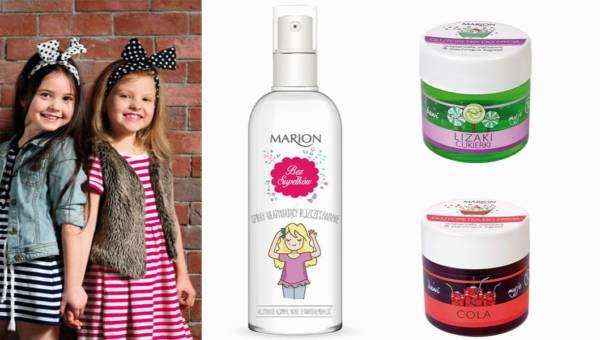 Słodkie kosmetyki Marion dla dzieci