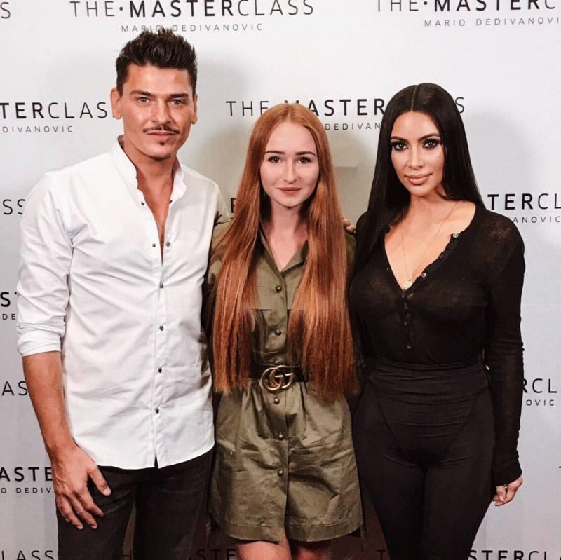 Kim Kardashian na The Master Class