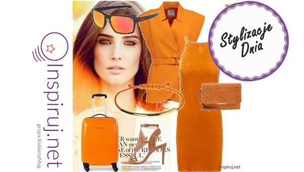 Pomysły na stylizację w kolorach pomarańczy i brązu