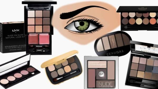 Top kosmetyczny: najlepsze paletki nude – do pracy i na co dzień