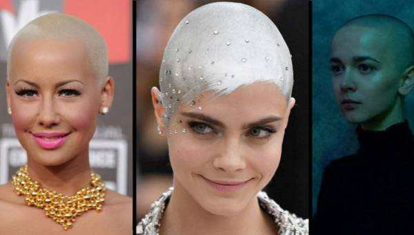 Ogolona głowa fryzurą roku wśród kobiecych gwiazd! Hit czy kit?