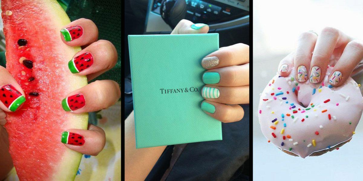 paznokcie w kolorze rzeczy
