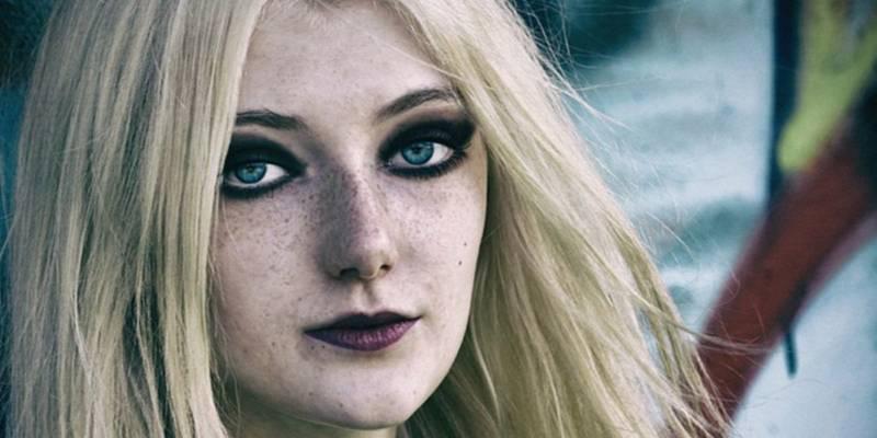Makijaż i piegi