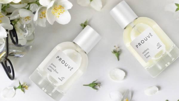 Upojny jaśmin w zapachach Prouvé – nowej polskiej marki perfum