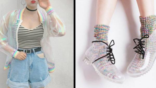 Gorący trend tego lata: przezroczyste ubrania i akcesoria