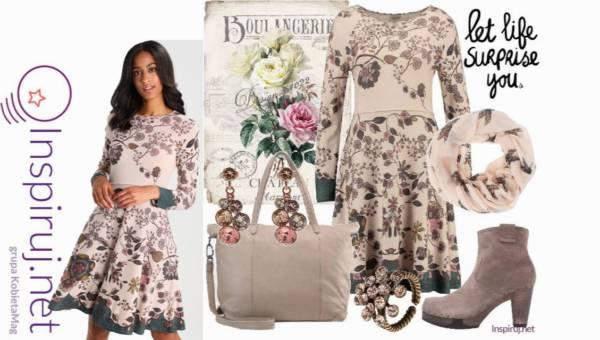 Modne Stylizacje – Romantyczne sukienki w kwiaty