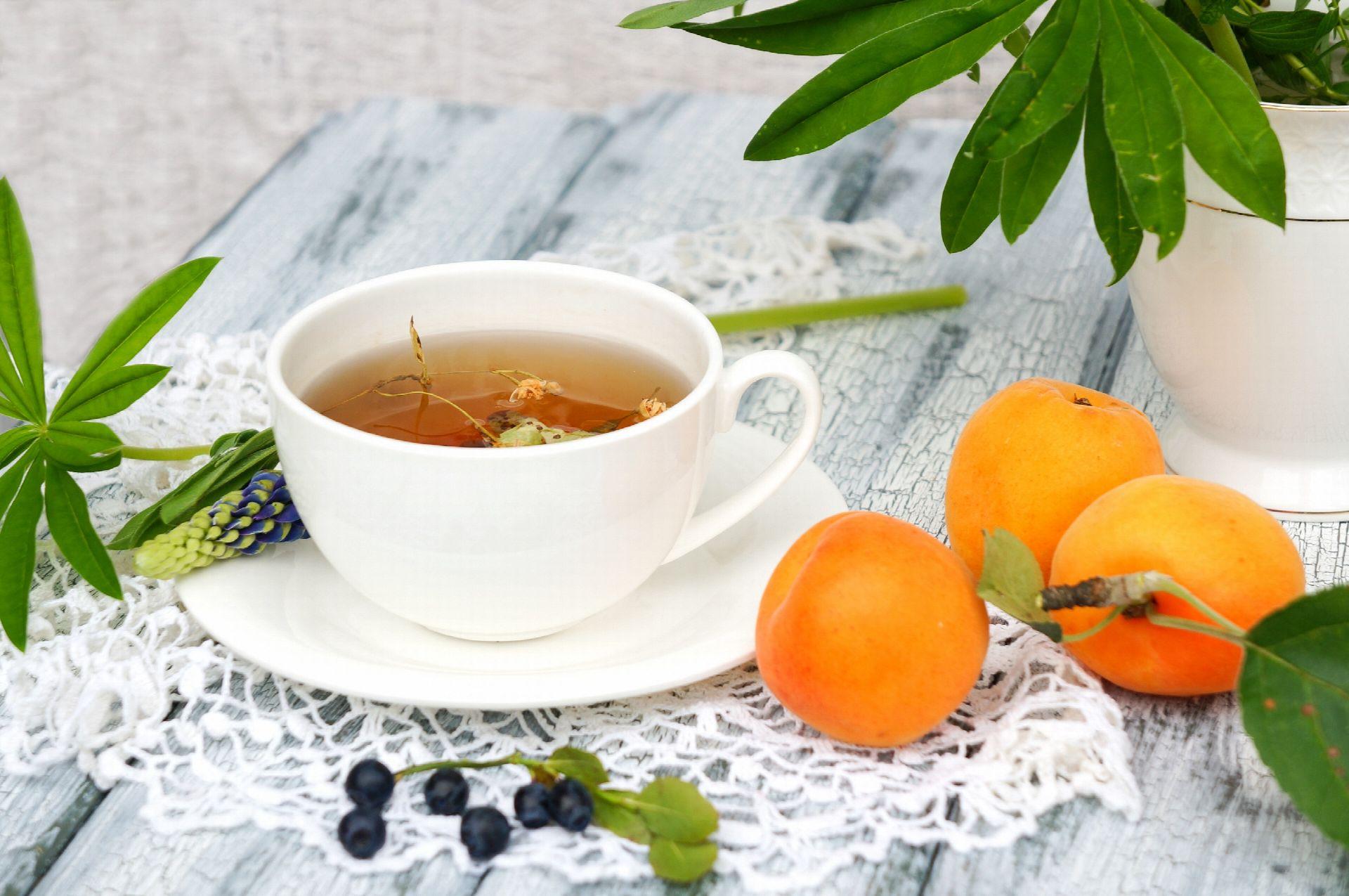 herbata z morelą
