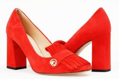 buty marki baldowski - czerwone