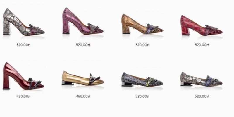 buty marki baldowski - ceny butów