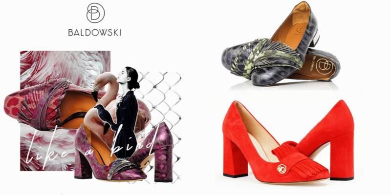 buty marki baldowski - różnokolorowe