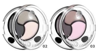BELLTrio Eyeshadow -Trójkolorowy cień do powiek