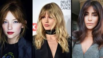 Curtain bang – najmodniejsza fryzura z grzywką