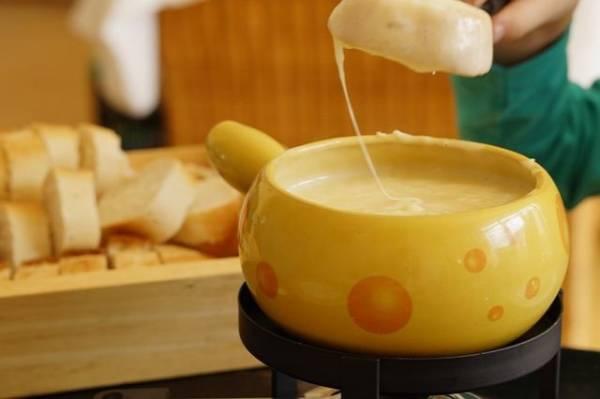 fondue - serowe
