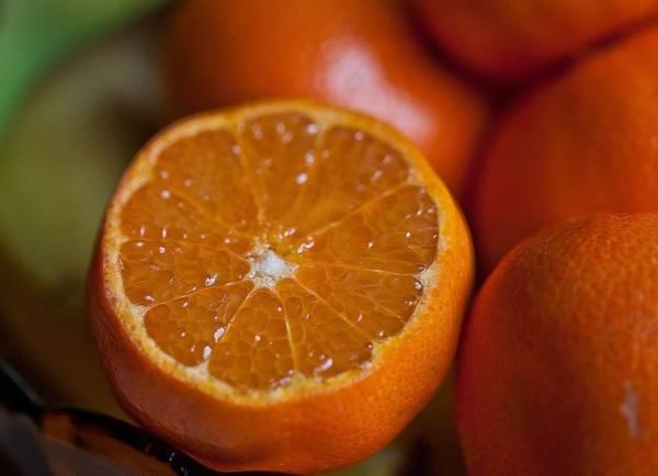 Eteryczny olejek mandarynkowy