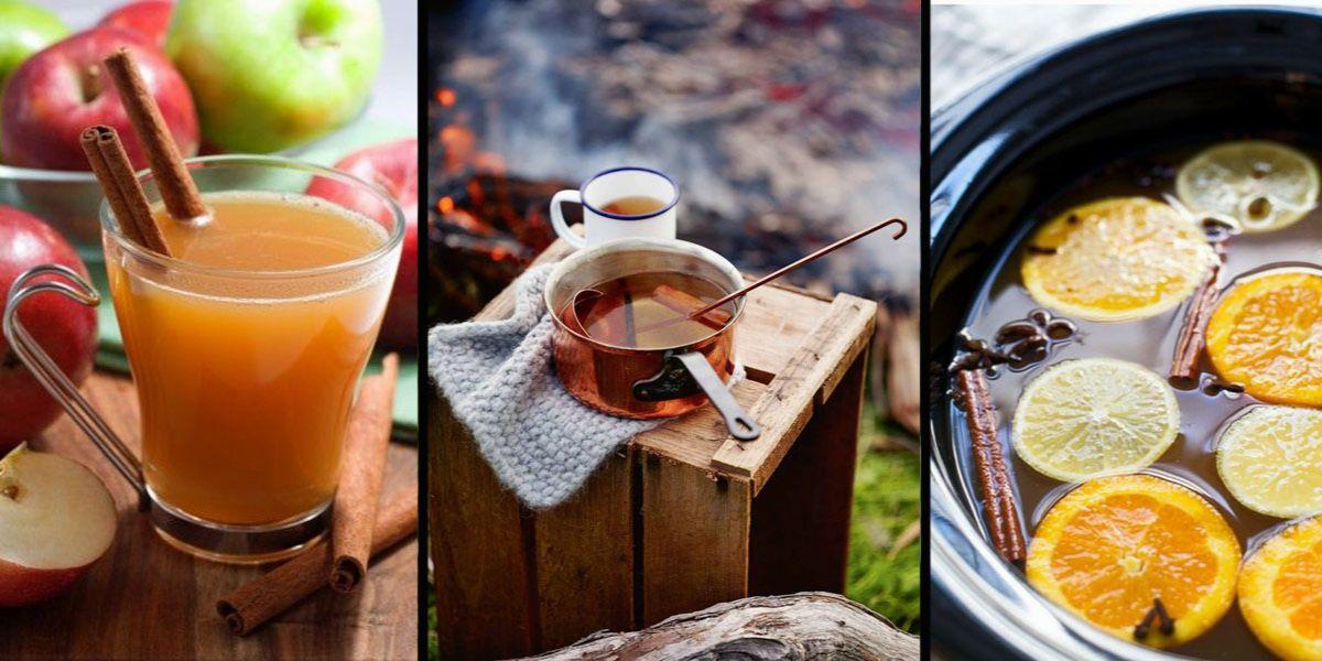 gorące drinki - cydry i nie tylko