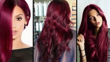 Burgund – klasyczny kolor włosów na każdy sezon