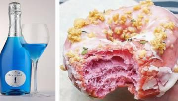 Kolorowe kulinarne wynalazki: produkty spożywcze w nietypowych barwach