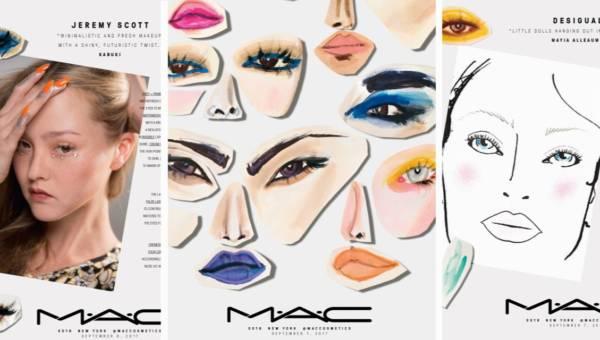 M•A•C COSMETICS – trendy makijażowe wiosna lato 2018 – zobacz pierwsze zdjęcia i karty do makijażu