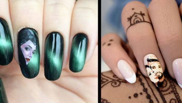 Manicure z portretem – oryginalny trend w stylizacji paznokci!