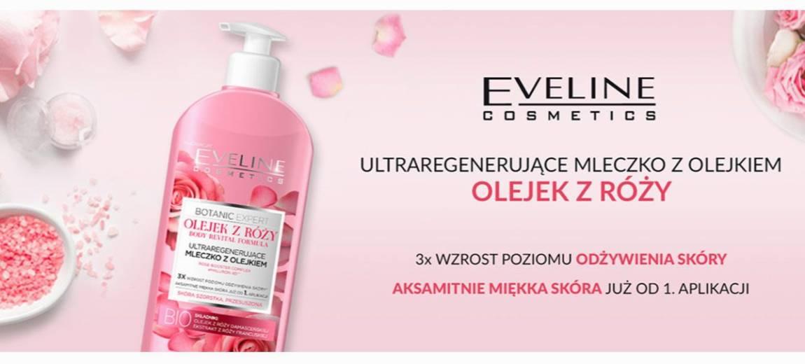 Nowość: Ultraregenerujące mleczko z olejkiem z róży od Botanic Expert Eveline Cosmetics!