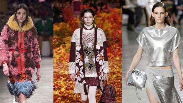 Trendy jesień zima 2017/2018 – poznaj modne kolory, wzory i faktury – dużo zdjęć!